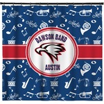 Musical Dawson Band Shower Curtain (Personalized)