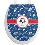 Musical Dawson Band Toilet Seat Decal (Personalized)