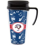 Musical Dawson Band Travel Mug with Handle (Personalized)