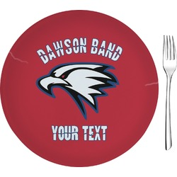 Dawson Eagles Band Logo Glass Appetizer / Dessert Plate 8