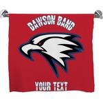 Dawson Eagles Band Logo Full Print Bath Towel (Personalized)