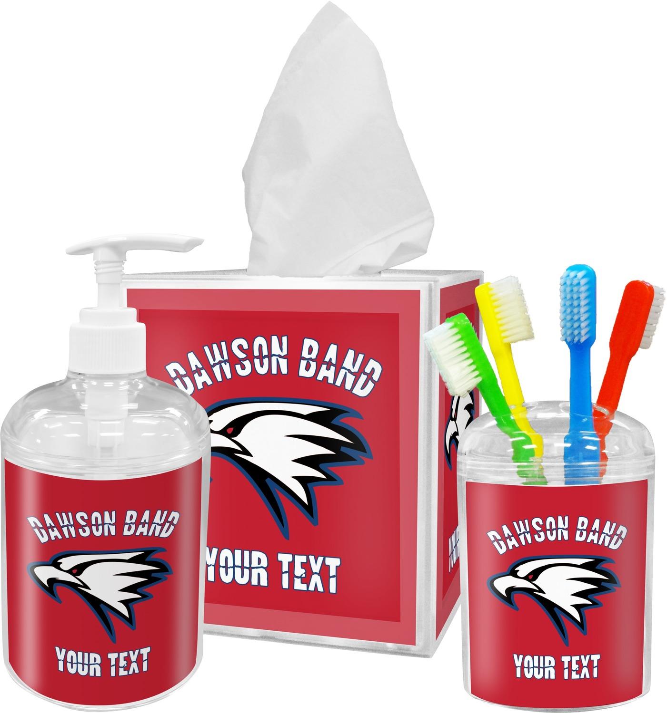 Dawson Eagles Band Logo Bathroom Accessories Set