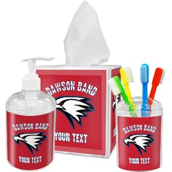 Dawson Eagles Band Logo Bathroom Accessories Set (Personalized)