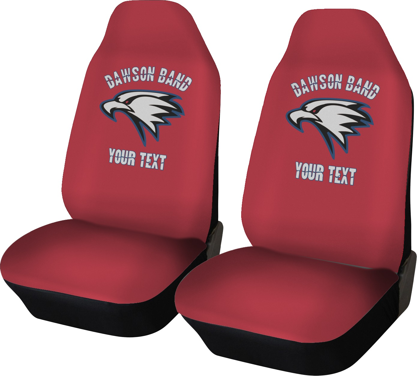 Dawson Eagles Band Logo Car Seat Covers Set Of Two