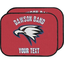 Dawson Eagles Band Logo Car Floor Mats (Back Seat) (Personalized)