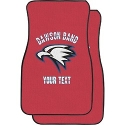 Dawson Eagles Band Logo Car Floor Mats (Front Seat) (Personalized)