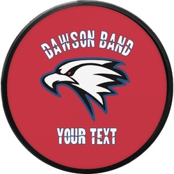 Dawson Eagles Band Logo Round Trailer Hitch Cover (Personalized)