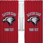 Dawson Eagles Band Logo Curtains (2 Panels Per Set) (Personalized)