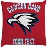 Dawson Eagles Band Logo Decorative Pillow Case (Personalized)