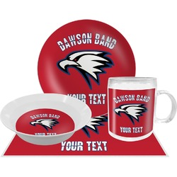 Dawson Eagles Band Logo Dinner Set - 4 Pc (Personalized)
