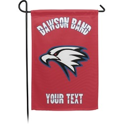 Dawson Eagles Band Logo Single Sided Garden Flag With Pole (Personalized)