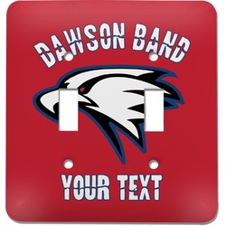 Dawson Eagles Band Logo Light Switch Cover (2 Toggle Plate) (Personalized)