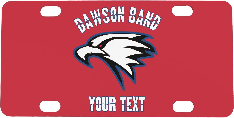 Dawson Eagles Band Logo Personalized Mini License Plate   RNK Shops