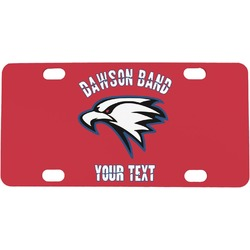 Dawson Eagles Band Logo Mini / Bicycle License Plate (Personalized)