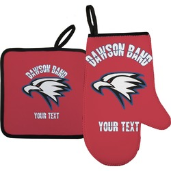 Dawson Eagles Band Logo Oven Mitt & Pot Holder (Personalized)