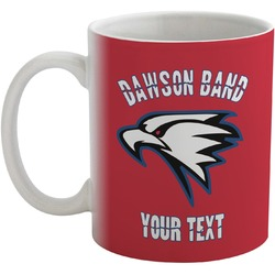 Dawson Eagles Band Logo Coffee Mug (Personalized)