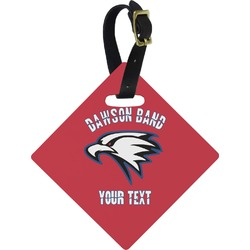 Dawson Eagles Band Logo Diamond Luggage Tag (Personalized)