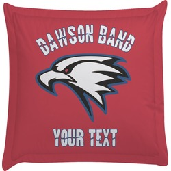 Dawson Eagles Band Logo Euro Sham Pillow Case (Personalized)