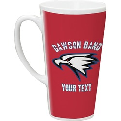 Dawson Eagles Band Logo Latte Mug (Personalized)