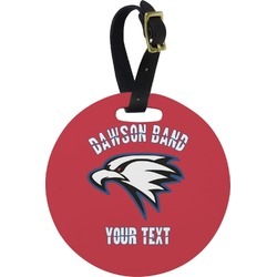 Dawson Eagles Band Logo Round Luggage Tag (Personalized)