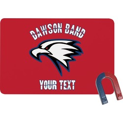 Dawson Eagles Band Logo Rectangular Fridge Magnet (Personalized)
