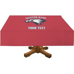 Dawson Eagles Band Logo Rectangle Tablecloth (Personalized)