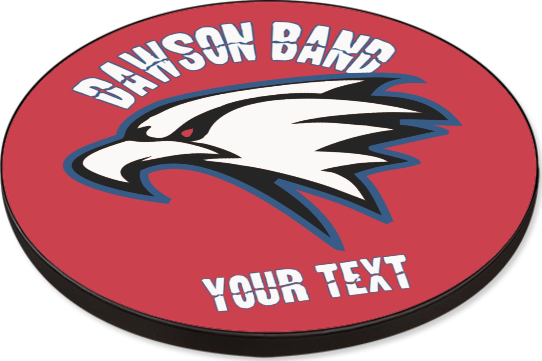 Dawson Eagles Band Logo Round Table Top - 24