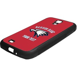 Dawson Eagles Band Logo Rubber Samsung Galaxy 4 Phone Case (Personalized)