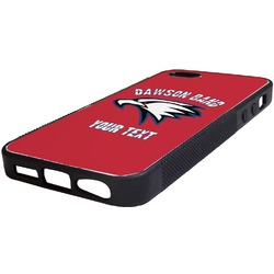 Dawson Eagles Band Logo Rubber iPhone 5/5S Phone Case (Personalized)