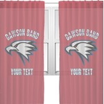 Dawson Eagles Band Logo Sheer Curtains (Personalized)