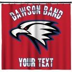 Dawson Eagles Band Logo Shower Curtain (Personalized)