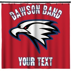 Dawson Eagles Band Logo Shower Curtain (Personalized)