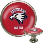 Dawson Eagles Band Logo Cabinet Knob (Silver) (Personalized)