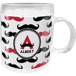 Mustache Print Acrylic Kids Mug (Personalized)