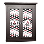 Mustache Print Cabinet Decal - Custom Size (Personalized)