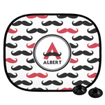 Mustache Print Car Side Window Sun Shade (Personalized)