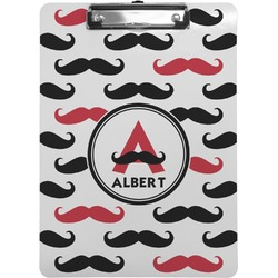 Mustache Print Clipboard (Personalized)