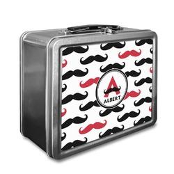 Mustache Print Lunch Box (Personalized)