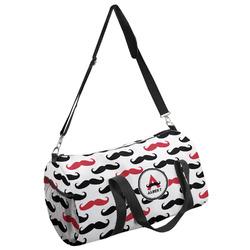 Mustache Print Duffel Bag - Multiple Sizes (Personalized)
