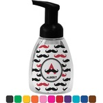Mustache Print Foam Soap Dispenser (Personalized)