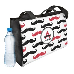 Mustache Print Ladies Workout Bag (Personalized)