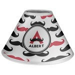 Mustache Print Coolie Lamp Shade (Personalized)
