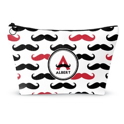 Mustache Print Makeup Bags (Personalized)