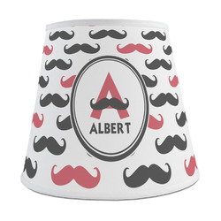 Mustache Print Empire Lamp Shade (Personalized)