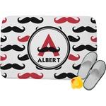 Mustache Print Memory Foam Bath Mat (Personalized)