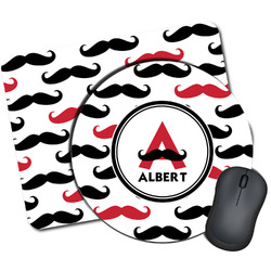 Mustache Print Mouse Pads (Personalized)