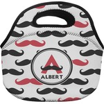 Mustache Print Lunch Bag (Personalized)