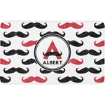 Mustache Print Bath Mat (Personalized)