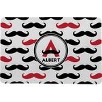 Mustache Print Comfort Mat (Personalized)