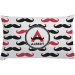 Mustache Print Pillow Case (Personalized)